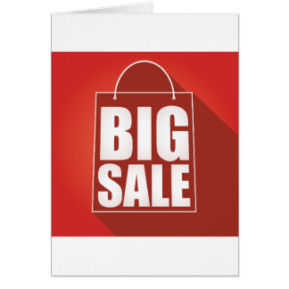 Big Sale Note Cards