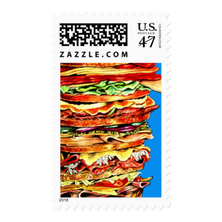 Big Sandwich Postage
