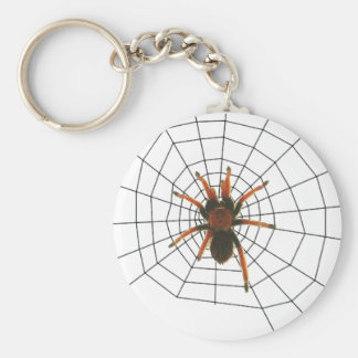 big scary spider key chains