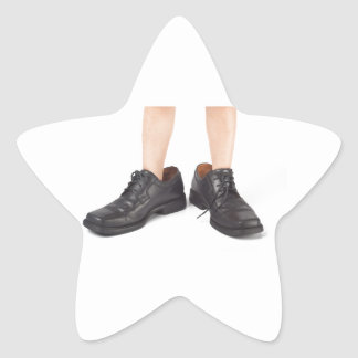 Big shoes to fill star sticker