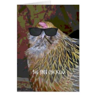 Big Shot Chicken Card