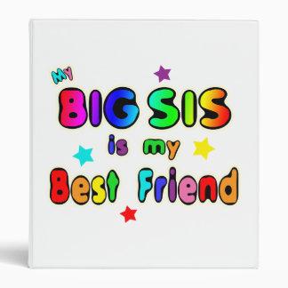 Big Sis Best Friend 3 Ring Binder