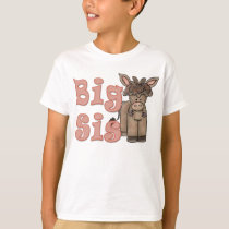 Big Sis Cute Donkey T-Shirt