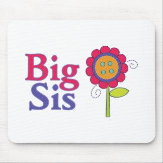 Big Sis Cute Flower 2 Mouse Pad