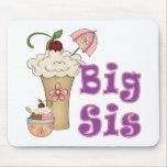 Big Sis Ice Cream Mouse Pad