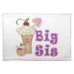 Big Sis Ice Cream Placemat