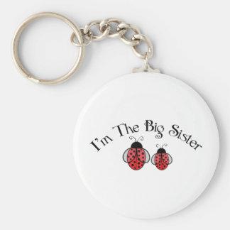 Big Sis Ladybug Keychains