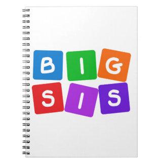 Big Sis notebook