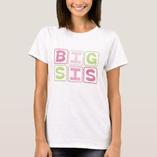 BIG SIS OUTLINE BLOCKS T-Shirt