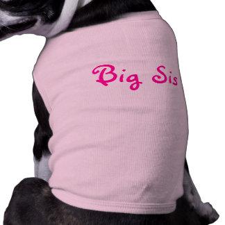 Big Sis Pet T Shirt