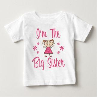 Big Sis Pink Girl Baby T-Shirt