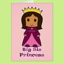 Big Sis Princess Card
