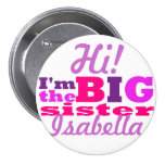 big sister 3 inch round button