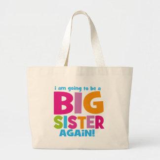 Big Sister Again Jumbo Tote Bag