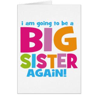Big Sister Again Card