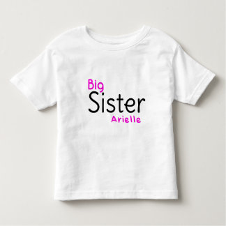 Big Sister Arielle Toddler T-shirt