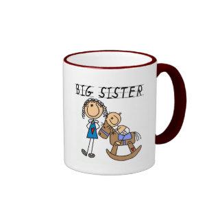 Big Sister Baby Brother T-shirts and Gifts Mugs