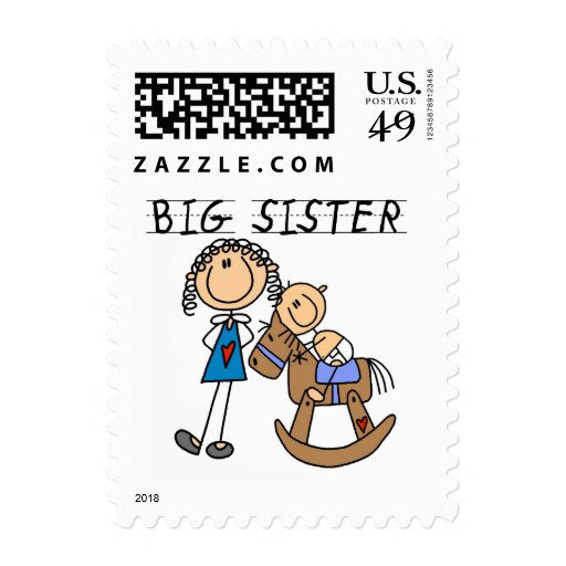 Big Sister Baby Brother T-shirts and Gifts Postage