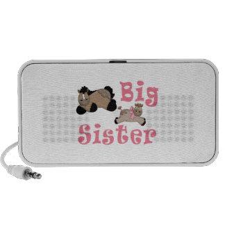 Big Sister Baby Girl Pony Travel Speaker