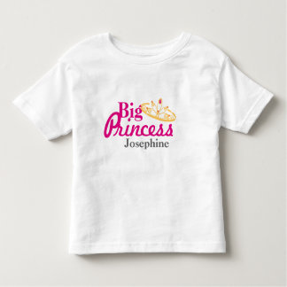big sister BABY SHOWER matching gift set Toddler T-shirt