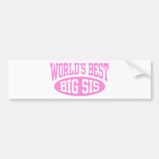 Big Sister Bumper Sticker