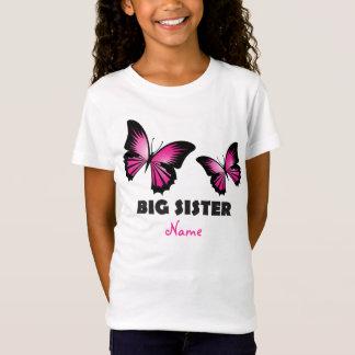 Big Sister Butterfly Tshirt