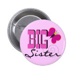 Big Sister Butterfly Tshirts and Gifts 2 Inch Round Button