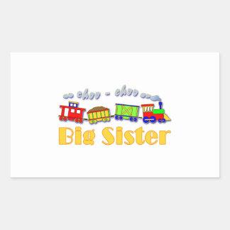 Big Sister Choo Choo Train Stickers