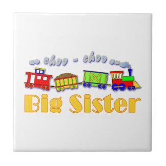 Big Sister Choo Choo Train Ceramic Tile