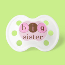 Big Sister - Circles Pacifier