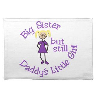 Big Sister Cloth Placemat