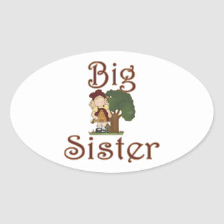 Big Sister Country Girl Bees Stickers