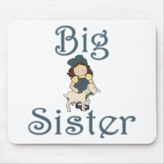Big Sister Country Girl Goat Mouse Pad