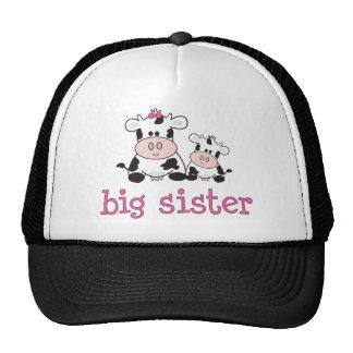 Big Sister Cow T-shirt Trucker Hat