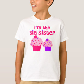 Big Sister cupcake T-Shirt