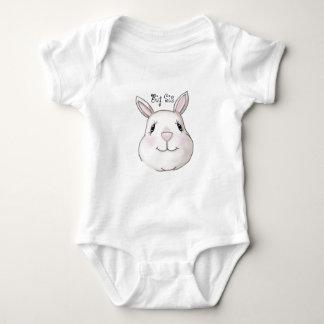 Big Sister Cute Bunny Rabbit Baby Bodysuit