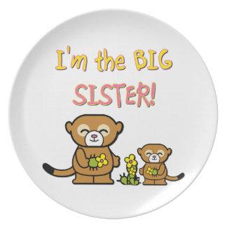 Big Sister Dinner Plate