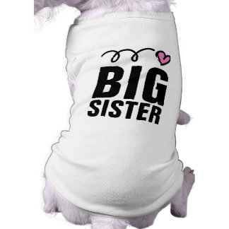 Big Sister Dog Shirt | Cute pet clothing