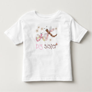 Big Sister Dragonfly Toddler T-shirt