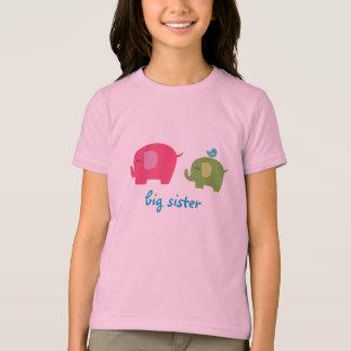 Big Sister Elephant Shirt