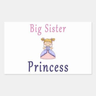 Big Sister Fairy Princess Rectangular Sticker