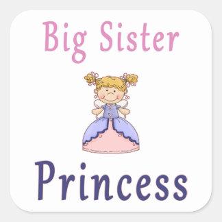 Big Sister Fairy Princess Square Sticker