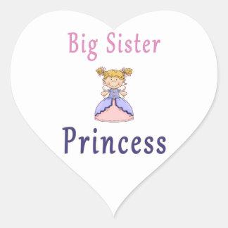 Big Sister Fairy Princess Stickers