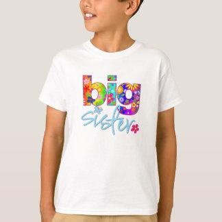 big sister flower back T-Shirt