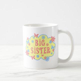 Big Sister Flower Butterfly Mug
