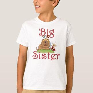 Big Sister Fluffy Pup 1 T-Shirt