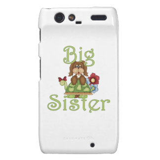 Big Sister Fluffy Pup 2 Motorola Droid RAZR Case