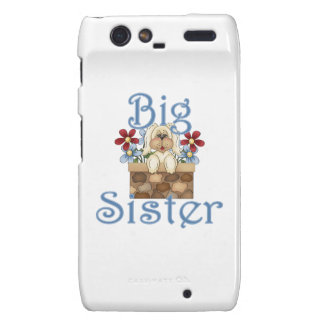 Big Sister Fluffy Pup 3 Droid RAZR Covers