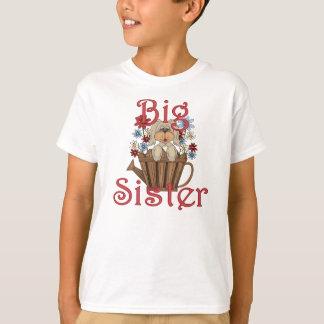 Big Sister Fluffy Pup 4 T-Shirt