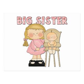 Big Sister Gift Postcard